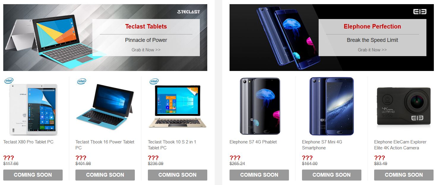 gearbest flash sale tablets and smartphones