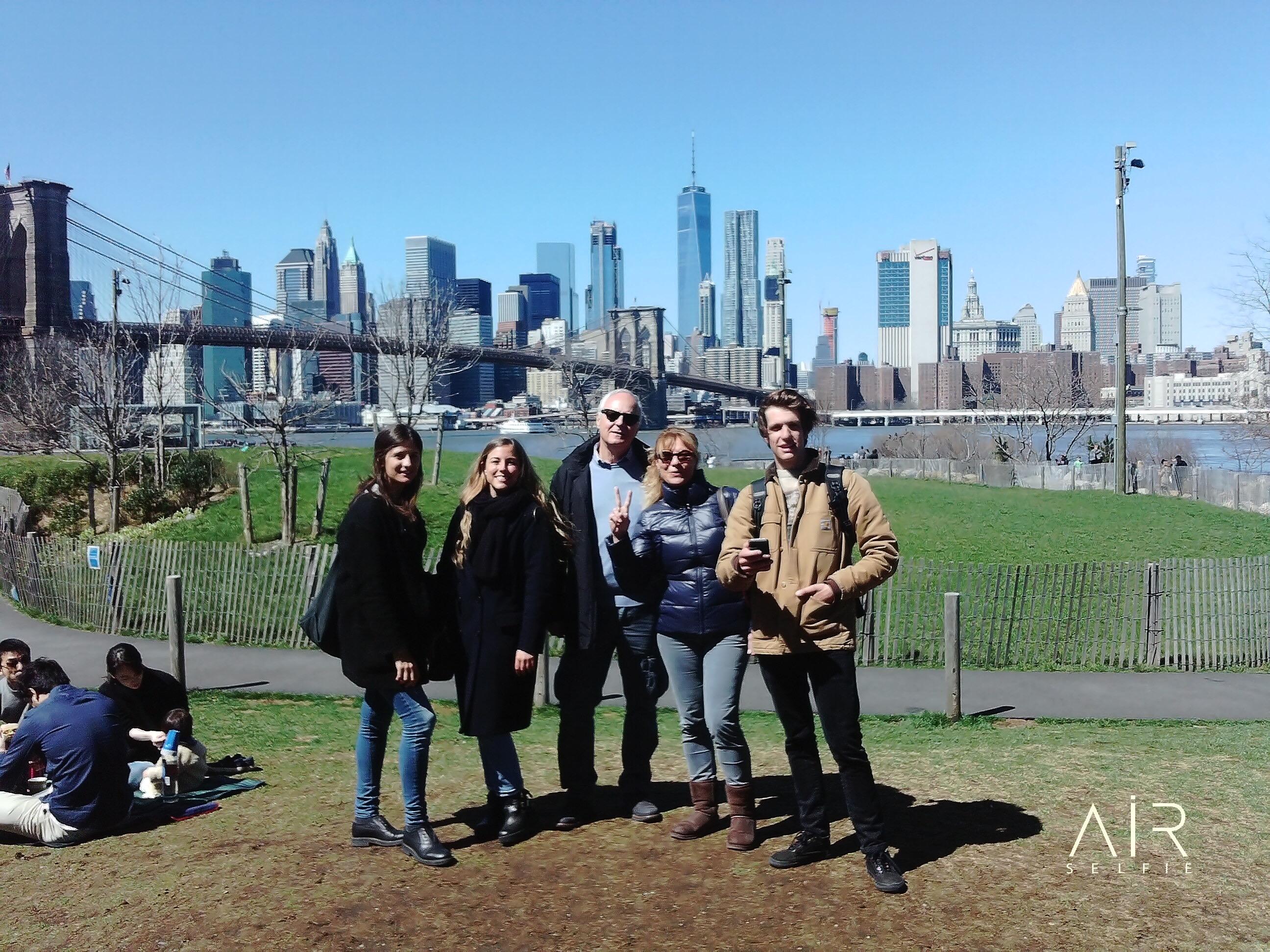 AirSelfie Camera Sample - NYC - Brooklin Bridge