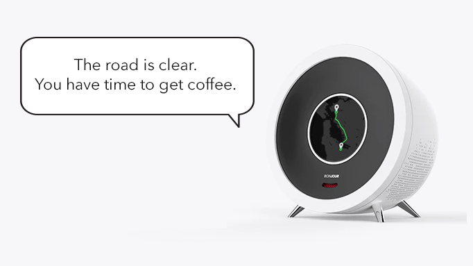 Bonjour, A Smart Alarm Clock with Artificial Intelligence