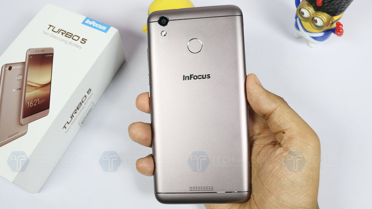 InFocus Turbo 5 with 5000mAh Battery