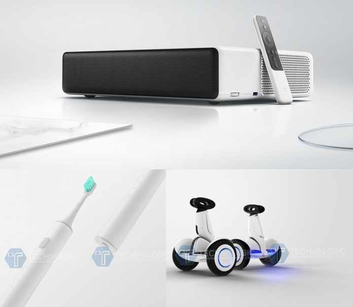 Mi-Laser-Projector,-Ninebot-Plus-and-Toothbrush