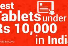 Top Best Tablet under 10000 Rs in India