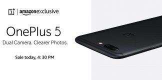Oneplus 5 Sale on Amazon