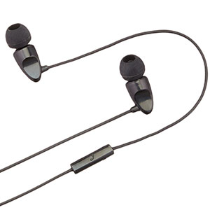AmazonBasics In-Ear Headphones with universal mic