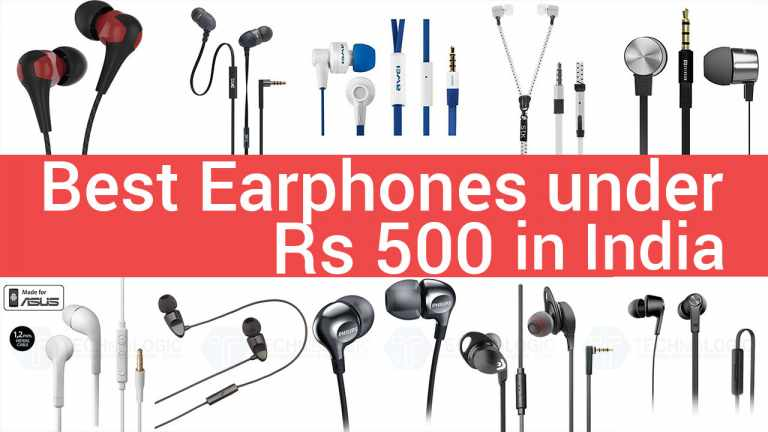 7 Best Earphones under 500 Rs in India 2020