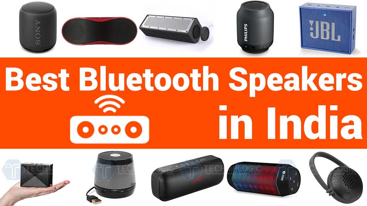 Top 10 Best Portable Bluetooth Speakers In India 2020 Techniblogic