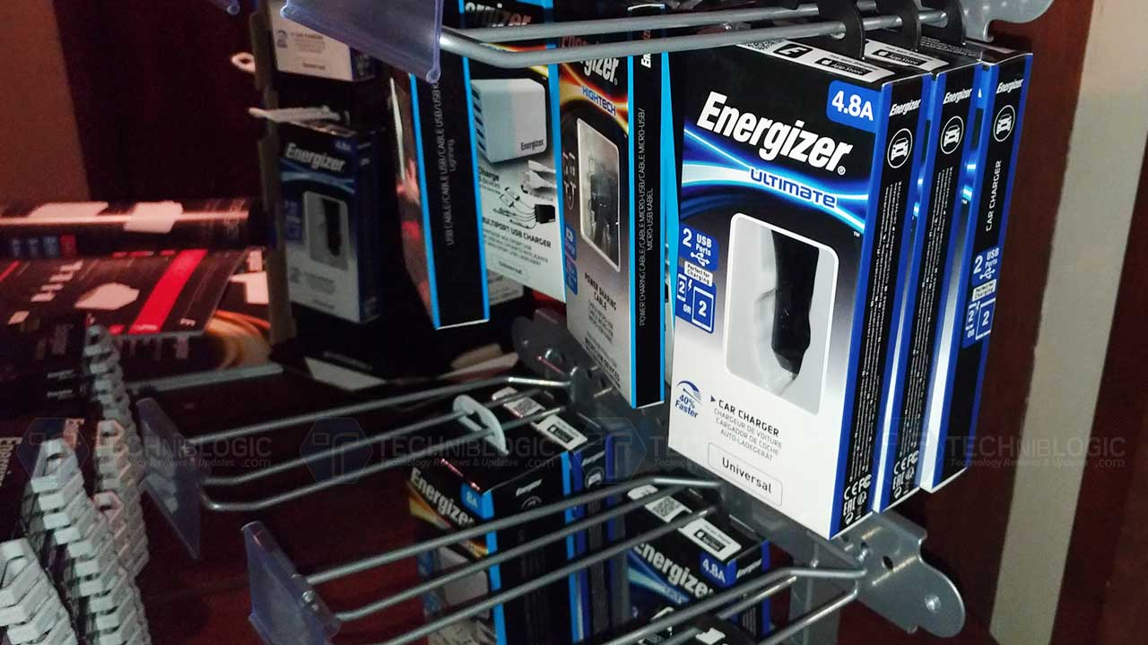 Energizer Cases, Chargers, Cables