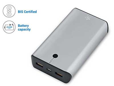 Flipkart SmartBuy 20000 mAh power bank