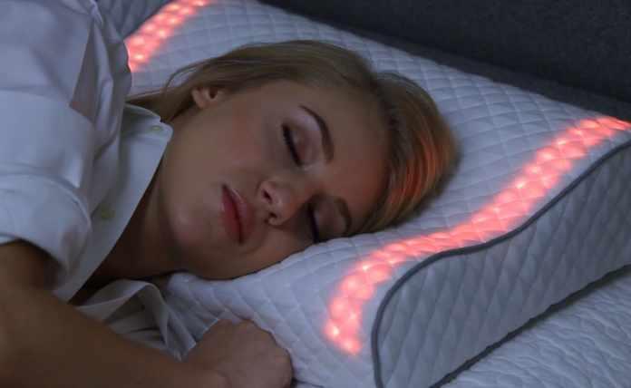 Futuristic Sunrise Smart Pillow