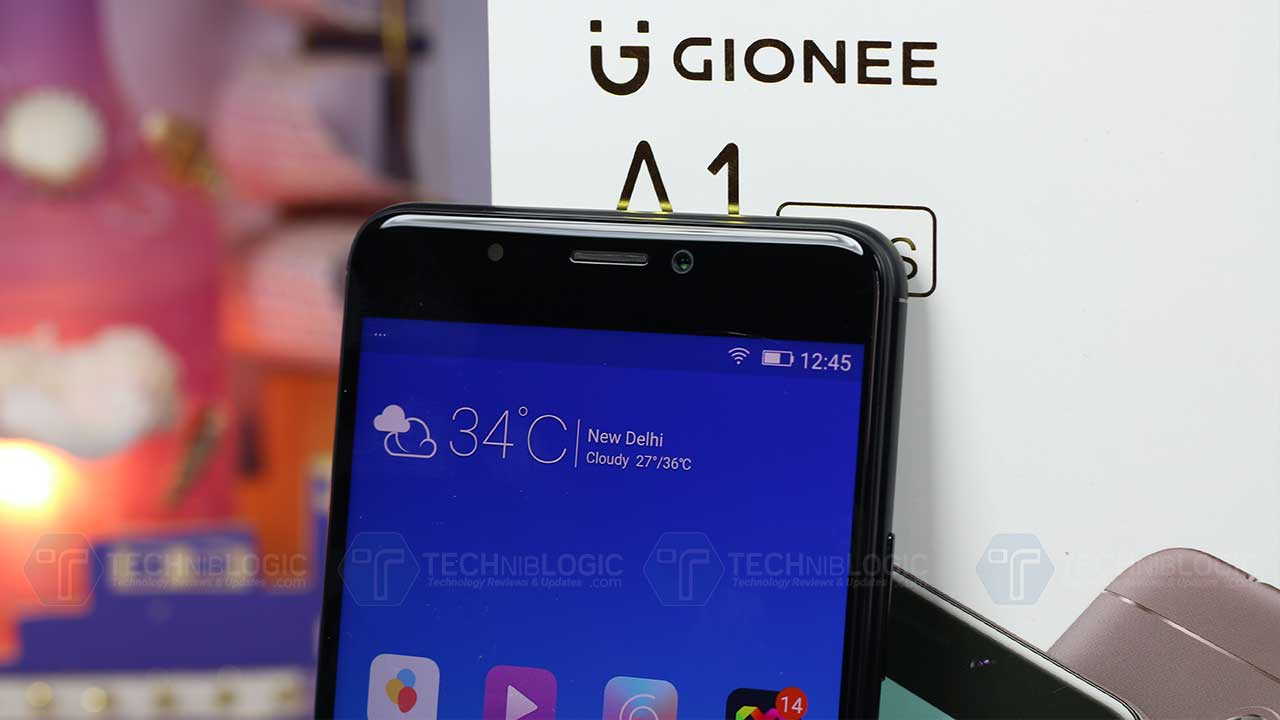Gionee-A1-Plus-front-camera