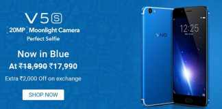 Huge Discounts and Offers on VIVO smartphones at Flipkart