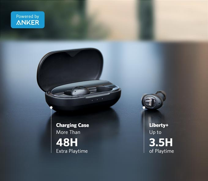 LIBERTY+ wireless earphones