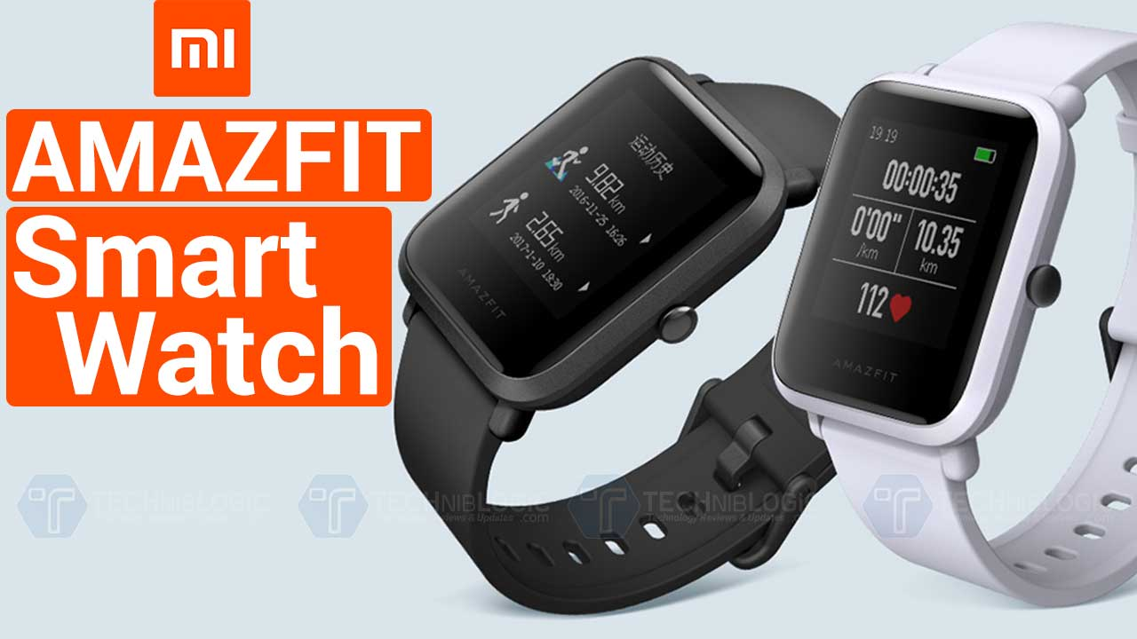 Xiaomi Amazfit Smartwatch With Heart Rate Monitor And Ip68 Waterproof on battery monitor