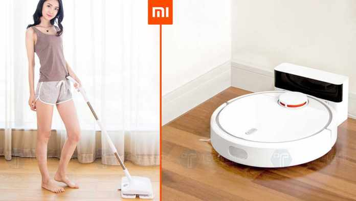 Smart Home Cleaning Gadgets by Xiaomi