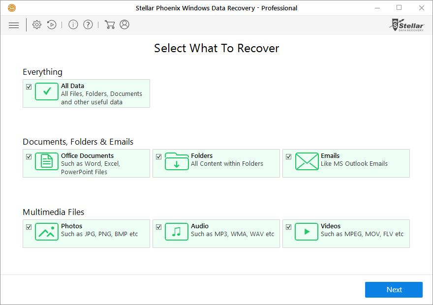 Stellar Phoenix Windows Data Recovery Professional Review 1