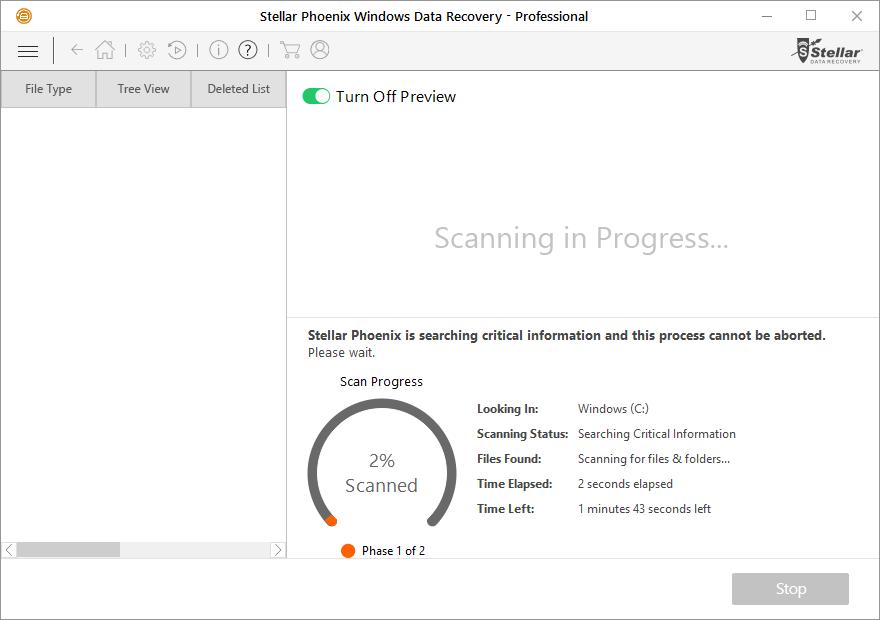 Stellar Phoenix Windows Data Recovery Professional Review 3