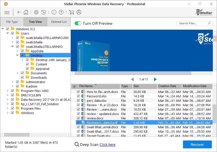 Stellar Phoenix Windows Data Recovery Professional Review 4