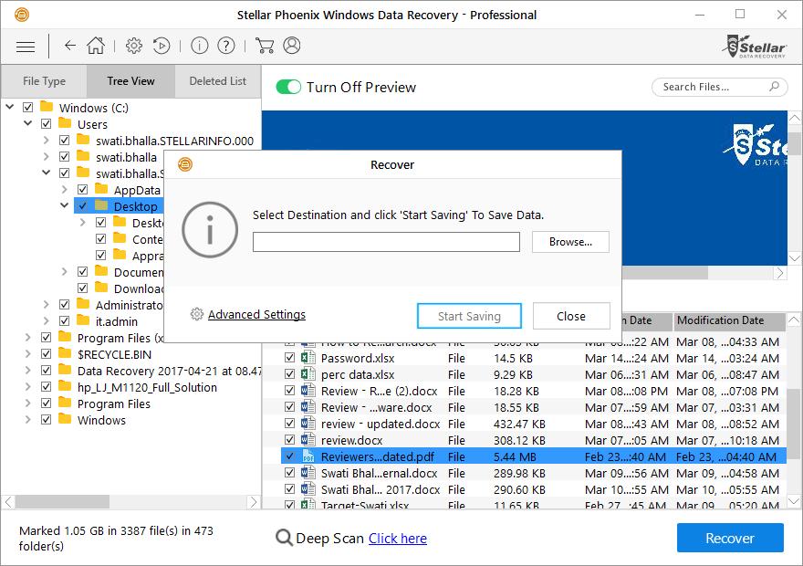 Stellar Phoenix Windows Data Recovery Professional Review 5