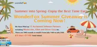 Wonderfox giveaway