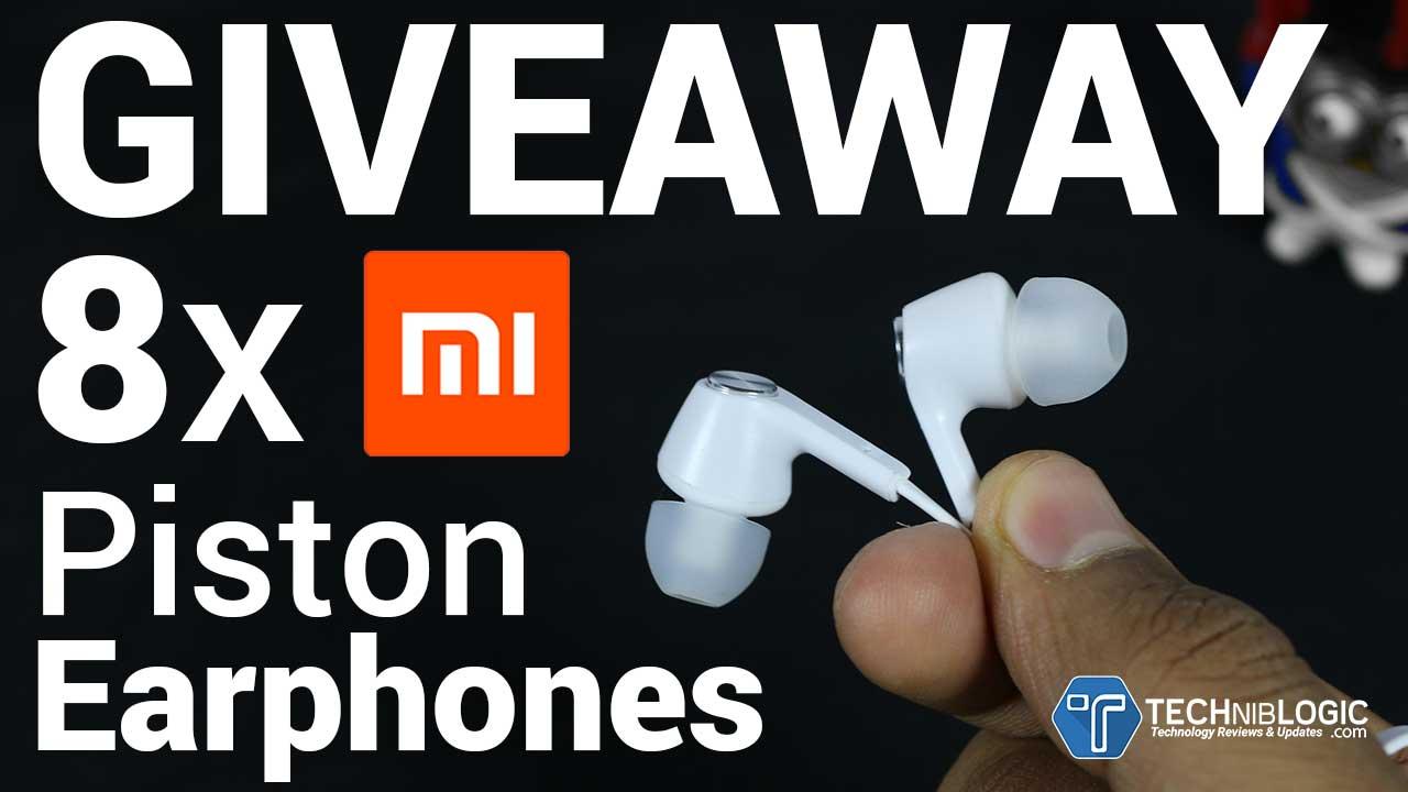 Xiaomi Mi Piston Earphones GIVEAWAY