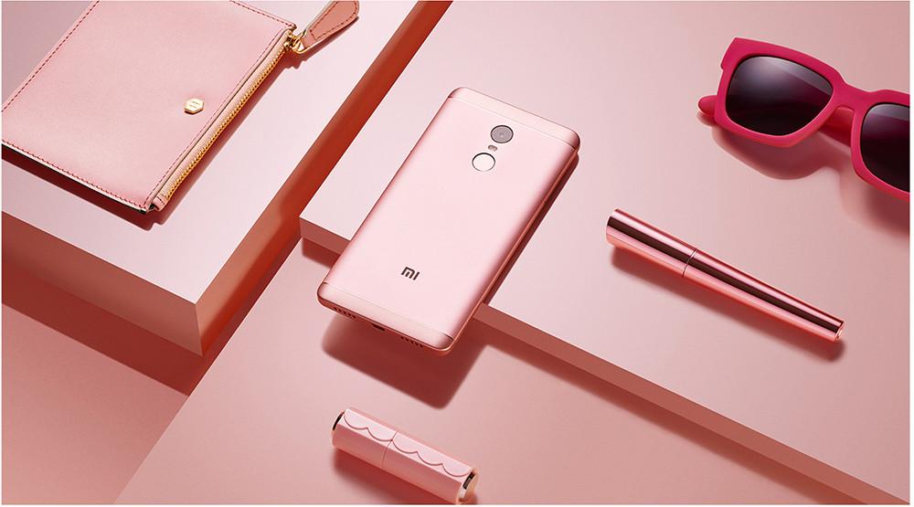Xiaomi Redmi Note 4X in Pink Color