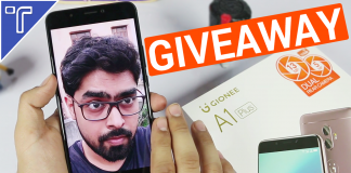 gionee A1 plus giveaway