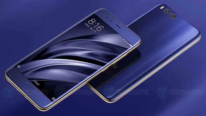 Xiaomi Mi 6 blue version
