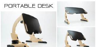 AdapDesk: The World's First Portable Work Station