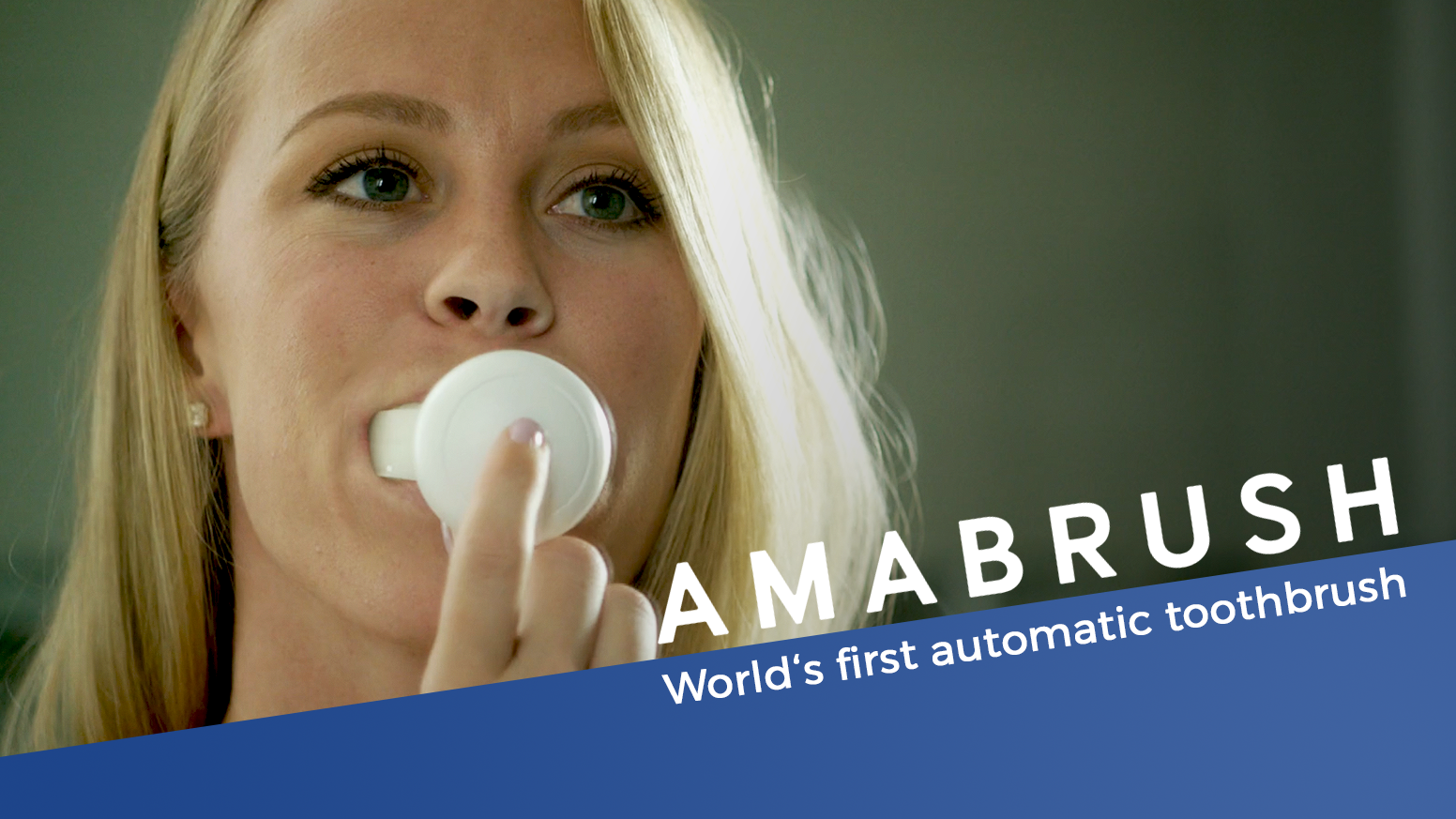 Amabrush - World's First Automatic Toothbrush