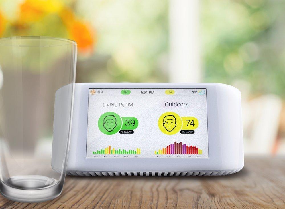 Atlanta Healthcare launches AirVisual Node ,a revolutionary Air Pollution Monitor 1