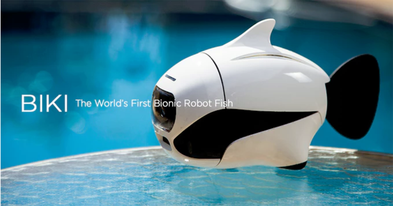 Biki: The World's First Bionic Robot Fish