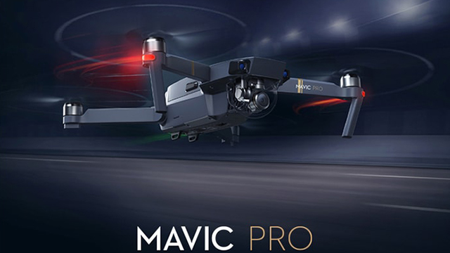 DJI Mavic Pro Mini RC Quadcopter with 4K UHD Camera