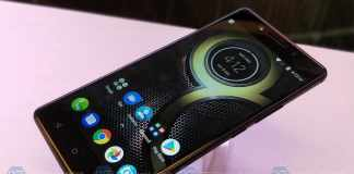 Lenovo K8 Note with Dual Camera