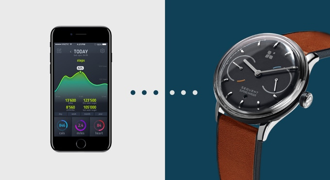 Sequent Self-Charging Smartwatch