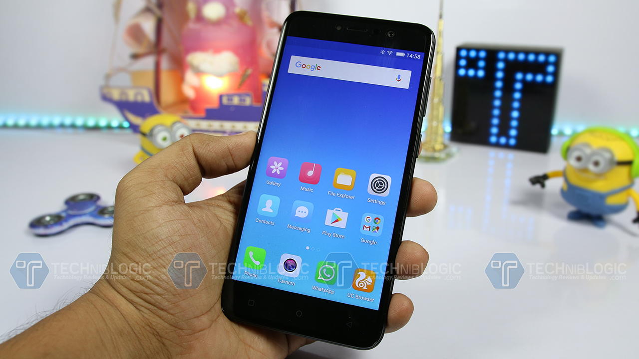 Gionee A1 Lite with 20MP Selfie Camera, 4000mAh battery Launched