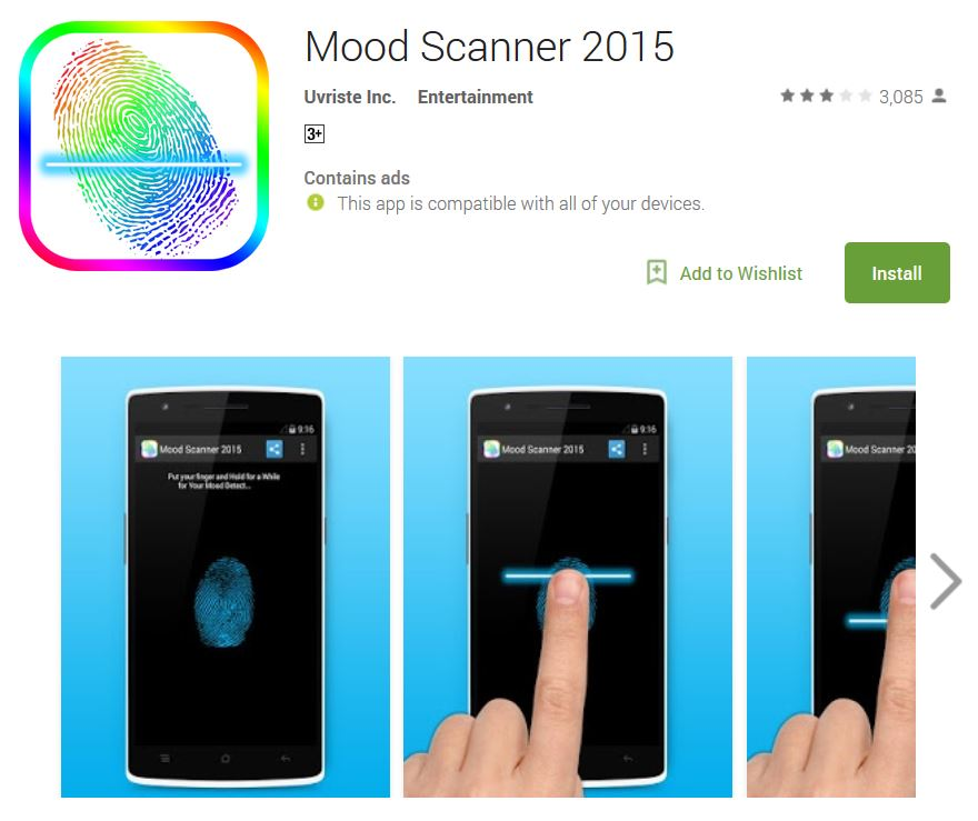 mood scanner app