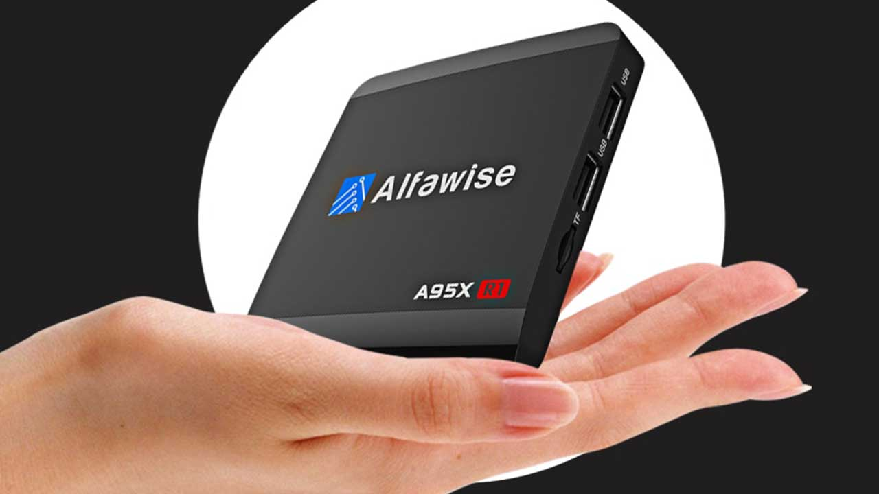 Alfawise A95X R1 TV Box with 4k Support and Android 6