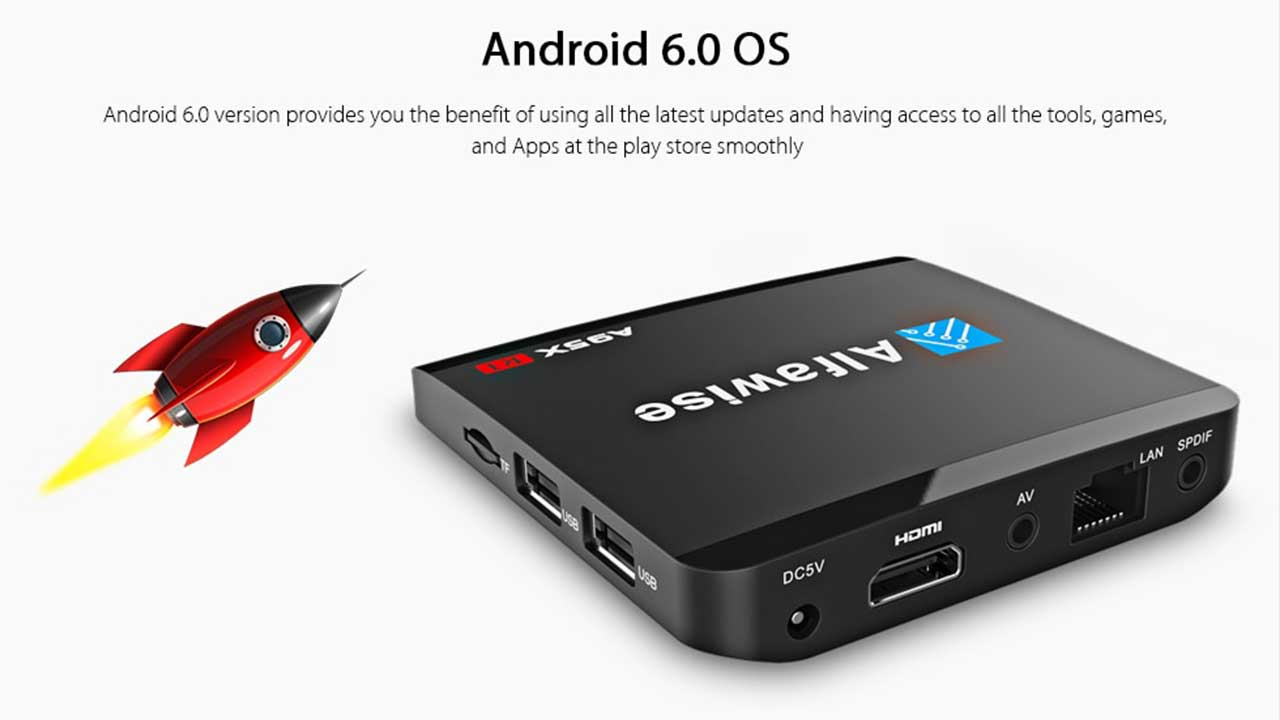 A95x android box update
