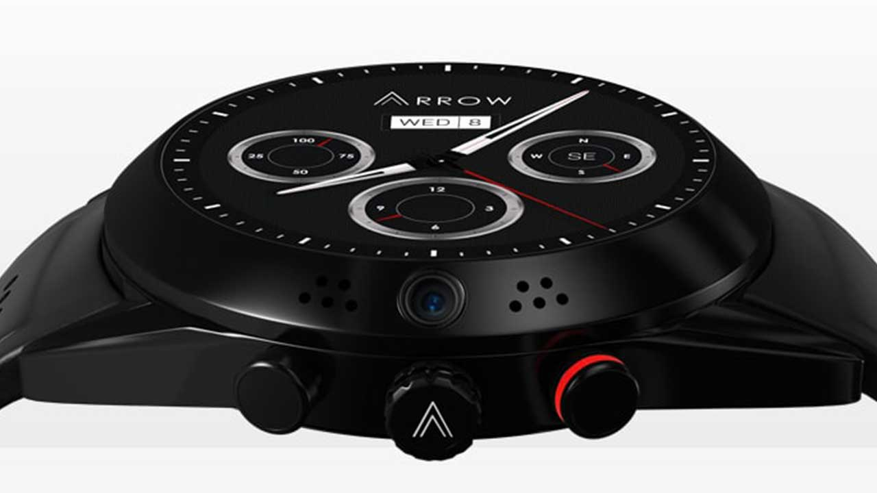Arrow Smartwatch with 360 Rotating HD Camera for iOS & Android