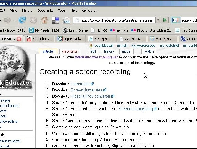YouTube Tutorial: How to Record Screen cast from YouTube 2