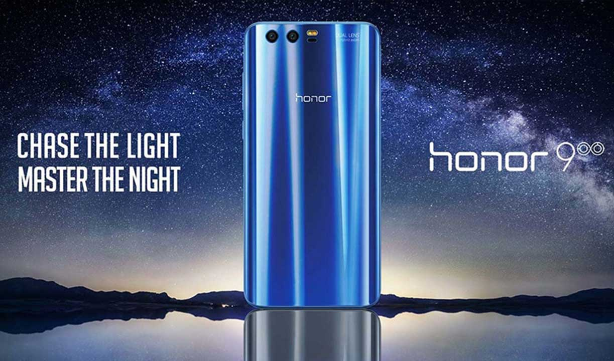 Huawei Honor 9 with 12.0MP + 20.0MP Dual Rear Cameras