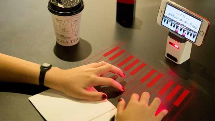 Serafim Keybo: World's Most Advanced Projection Keyboard