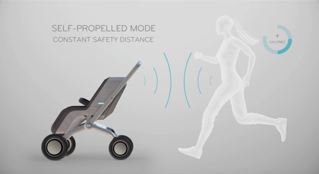 Smartbe Intelligent Stroller - The First Intelligent Baby Stroller