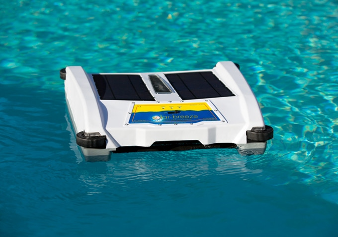 Solar Breeze - The Robotic Solar-Powered Pool Cleaner