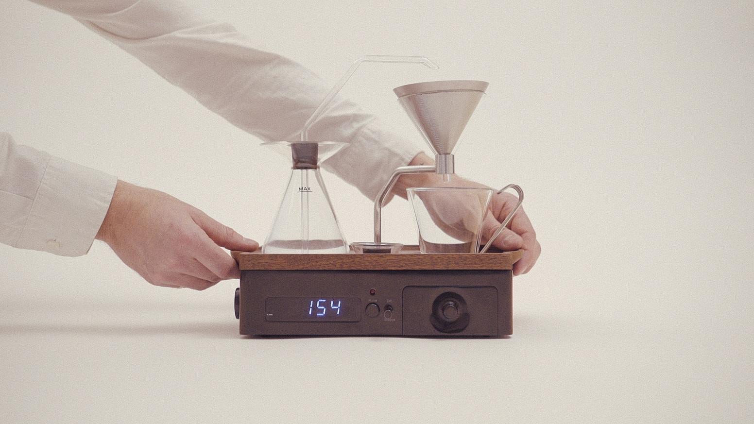 The Barisieur - Tea and Coffee Alarm Clock