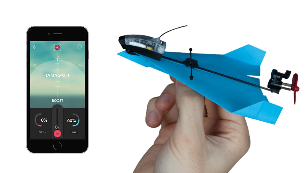 This SMART Paper Plane Will Blow Your Mind