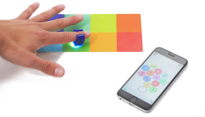Turn Color Into Sound with Innovative Specdrums Rings