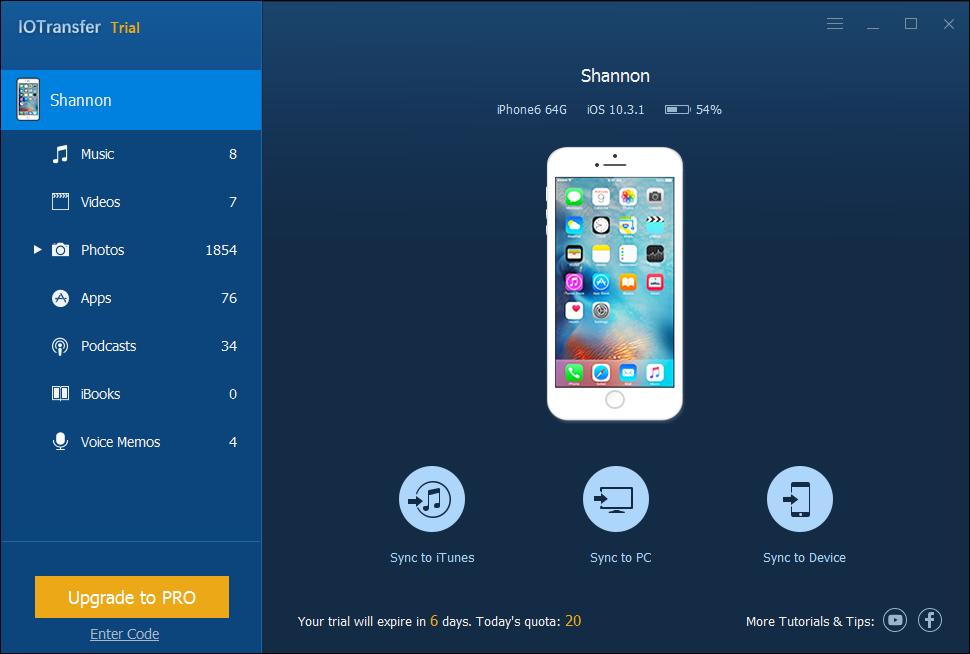 iOS Transfer Software 1