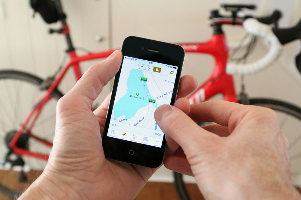 tracking ride apps