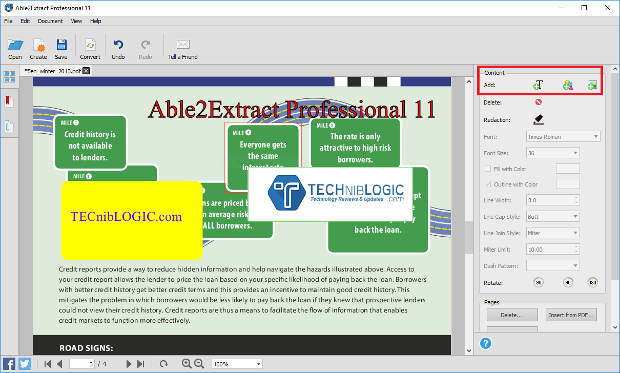 Able2Extract Pro 3